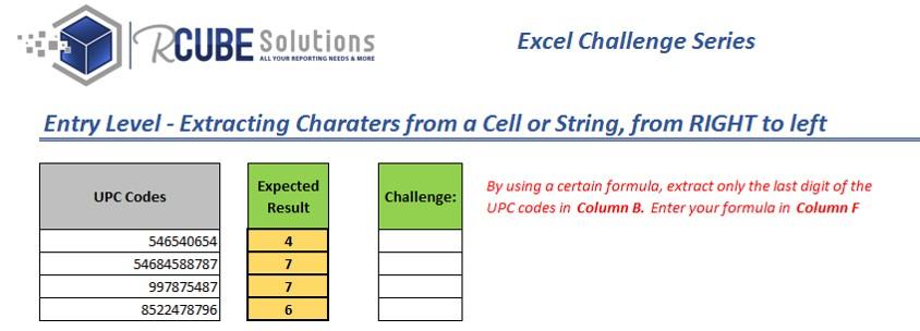 RCUBE Solutions - Basic 02 RIGHT formula